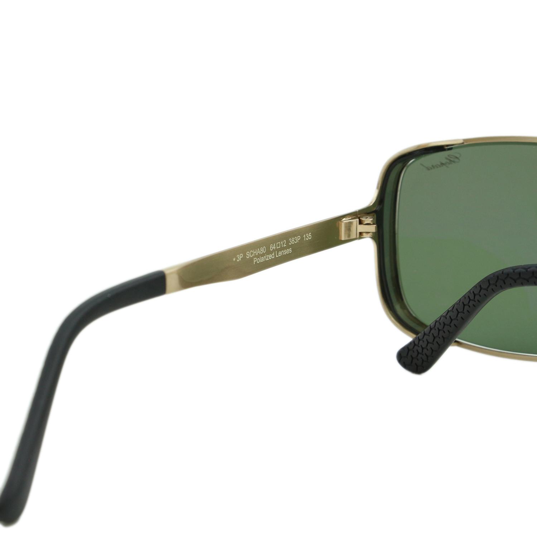 34794812d0 Chopard Mille Miglia SCH-A80 Men Gold Titanium Square Polarized Sunglasses  Japan